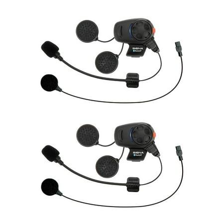 - Sena SMH5 Dual Motorcycle Bluetooth Headset & Intercom SMH5D-UNIV