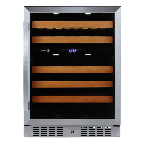 Fagor 46 Bottle Dual Zone Built In/Freestanding Wine Refrigerator