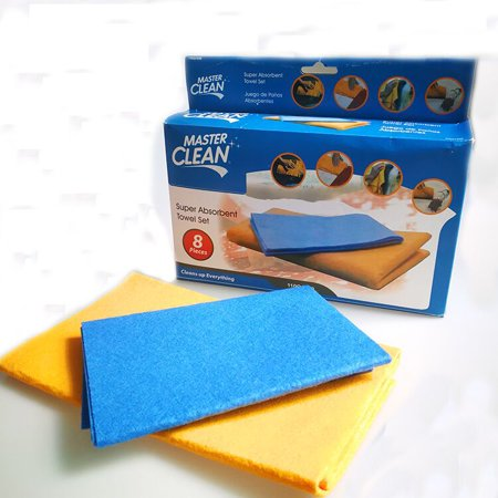 Multifunctional cleaning cloth Applicable to kitchen car floor glass Product TitleTuscom New ()