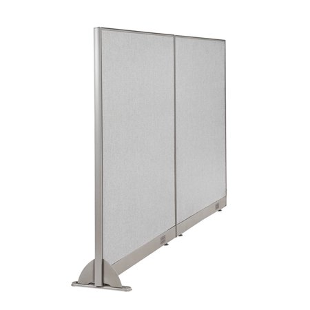 "GOF 96""W x 60""H Wall Mounted Office Partition Cubicle Panel Room Divider"