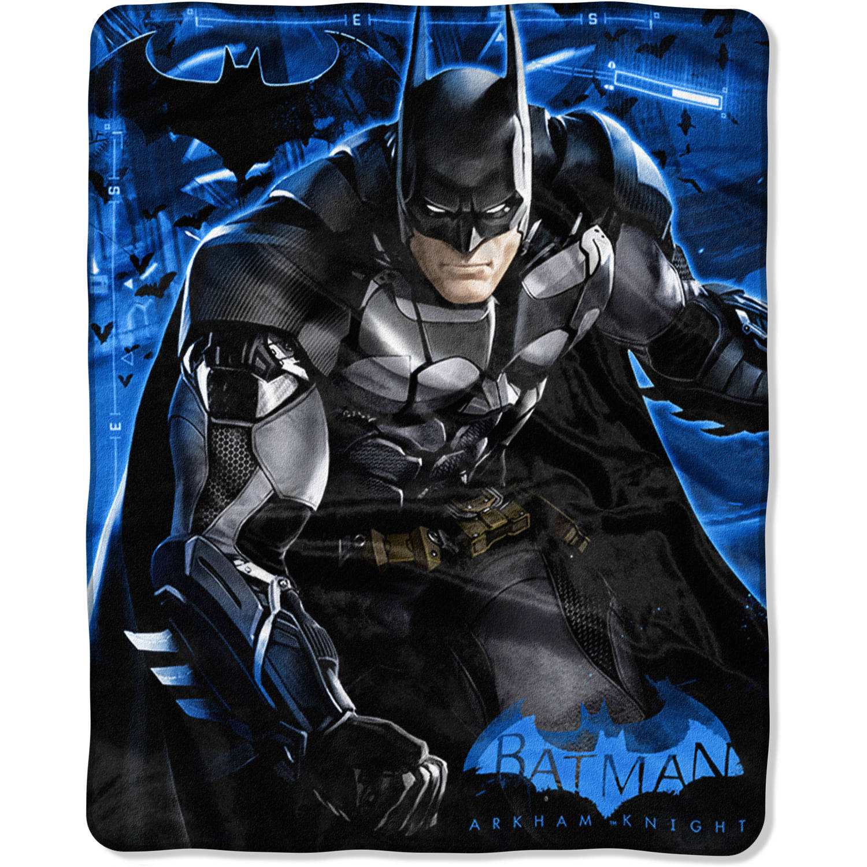 "Warner Bros. Batman Arkham Knight ""Progress"" 40"" x 50"" Silk Touch Throw"
