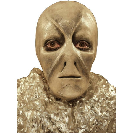 Foam Latex Prosthetic Face (No Makeup) Adult Halloween Accessory - Skull Face Halloween Makeup Men