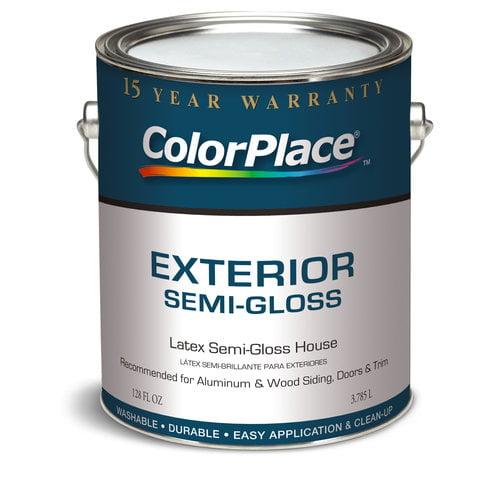 Colorplace Exterior Semi-Gloss Medium Base Paint, 1 Gal