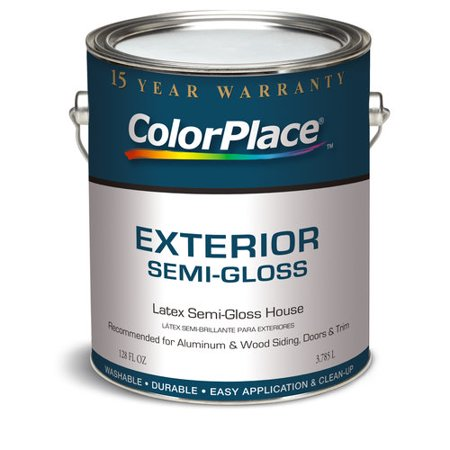 colorplace exterior semi gloss medium base paint 1 gal. Black Bedroom Furniture Sets. Home Design Ideas