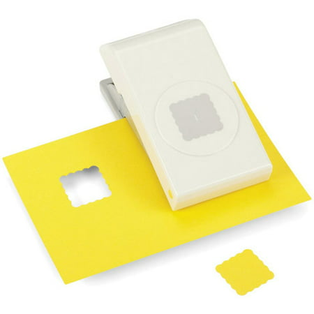 Ek Tools Punch Scallop Square 1In
