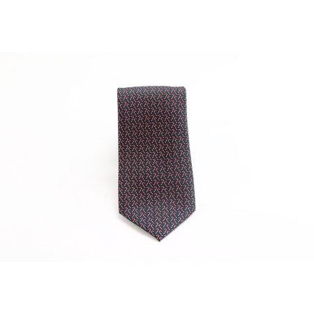 Designer Brand NEW Green Red Novelty Candy Cane Men's Neck Tie (New Novelty Tie)
