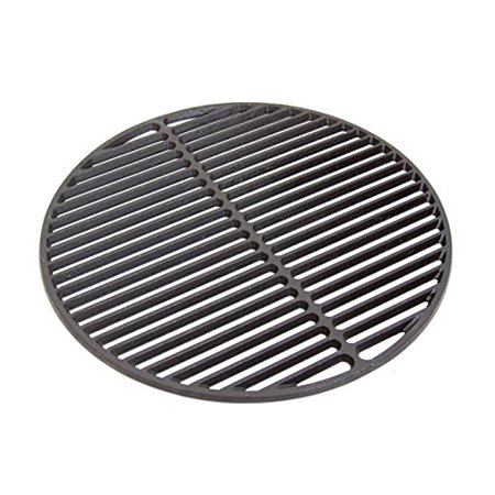 "Big Green Egg 18 3/16"" Large Grill Cast Iron Porcelain Coated Dual Sided Cooking Grate 18CI -A by GPM"