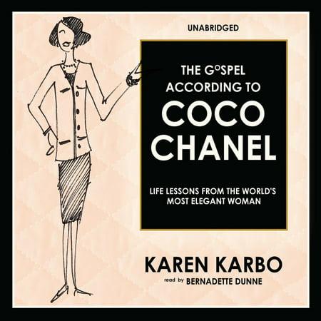 The Gospel According to Coco Chanel - Audiobook (According To Coco Chanel)