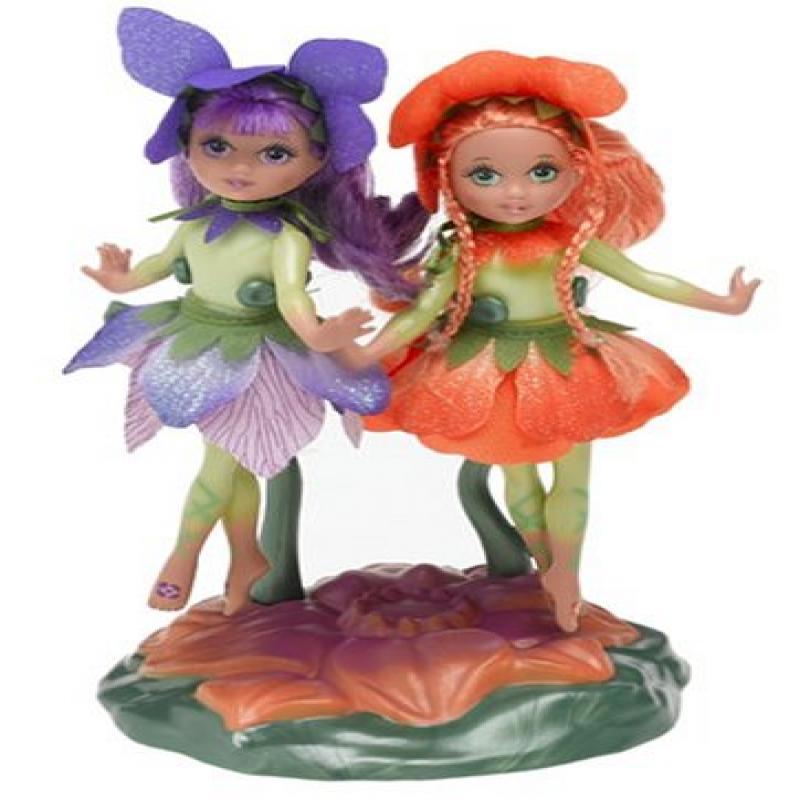 "Barbie Fairytopia 5"" Fairy Dolls Omma & Organza by"