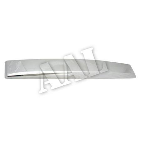 AAL Premium Chrome Tailgate Cover For 2007-2014 GMC 2007-2014 GMC Yukon, Yukon Deneli / XL Rear Trunk Top Liftgate WITHOUT LOGO CUTOUT