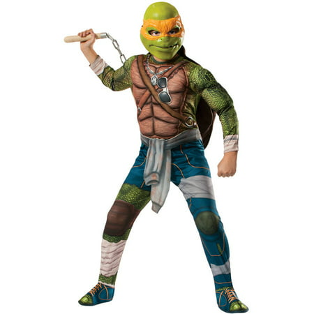Teenage Mutant Ninja Turtles Michelangelo Boys Child Halloween (Last Minute 50's Costume)
