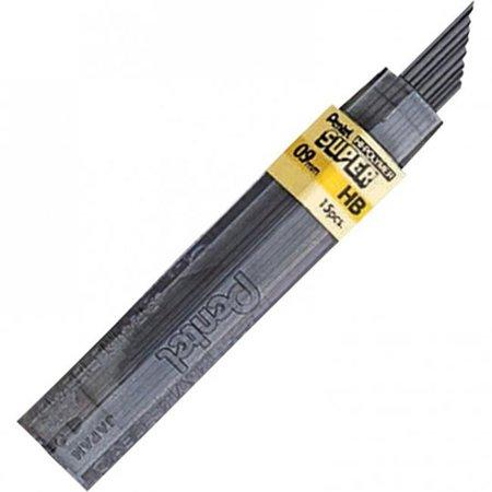 Pentel 509HB of America - Recharges de plomb super haut polym-re, HB, Noir - 15 par paquet - image 1 de 1