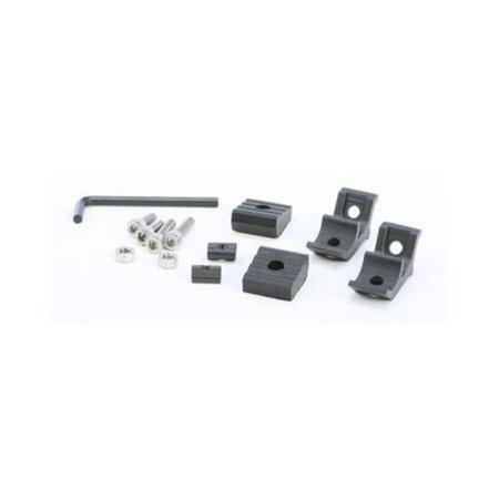Open Trail HARDWARE-BC4 Mounting Hardware Kit for Single LED Light Bar - 10W