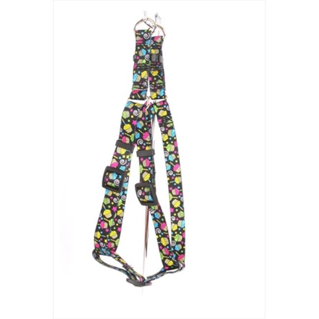 Yellow Dog Design SI-CUP103L Cupcakes Step-In Harness - Large