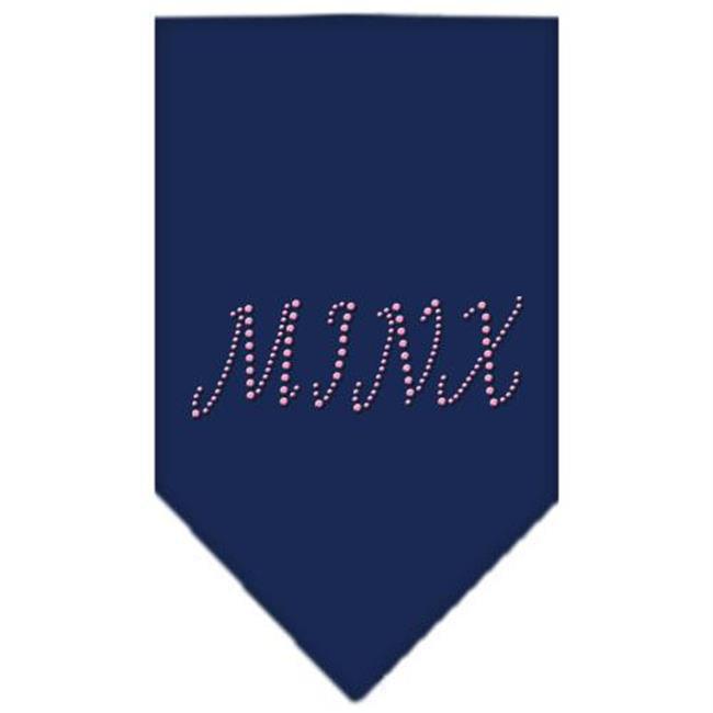 Minx Rhinestone Bandana Navy Blue Large - image 1 de 1