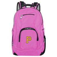 MLB Pittsburgh Pirates Pink Premium Laptop Backpack