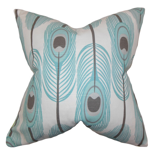 The Pillow Collection Hedy Feather Pillow