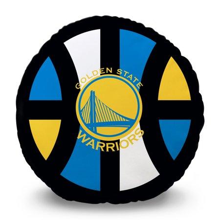 Golden State Warriors 15'' Team Pillow - No Size