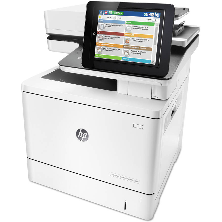 HP Color LaserJet Enterprise M577f Multifunction Printer/Copier/Scanner/Fax Machine