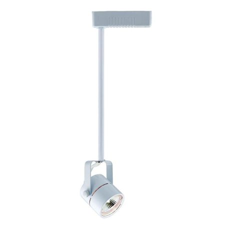 Voltage Track Lighting Fixture - jesco lighting sk248-wh 48 in. rod fixture extender for low voltage track fixtures, white