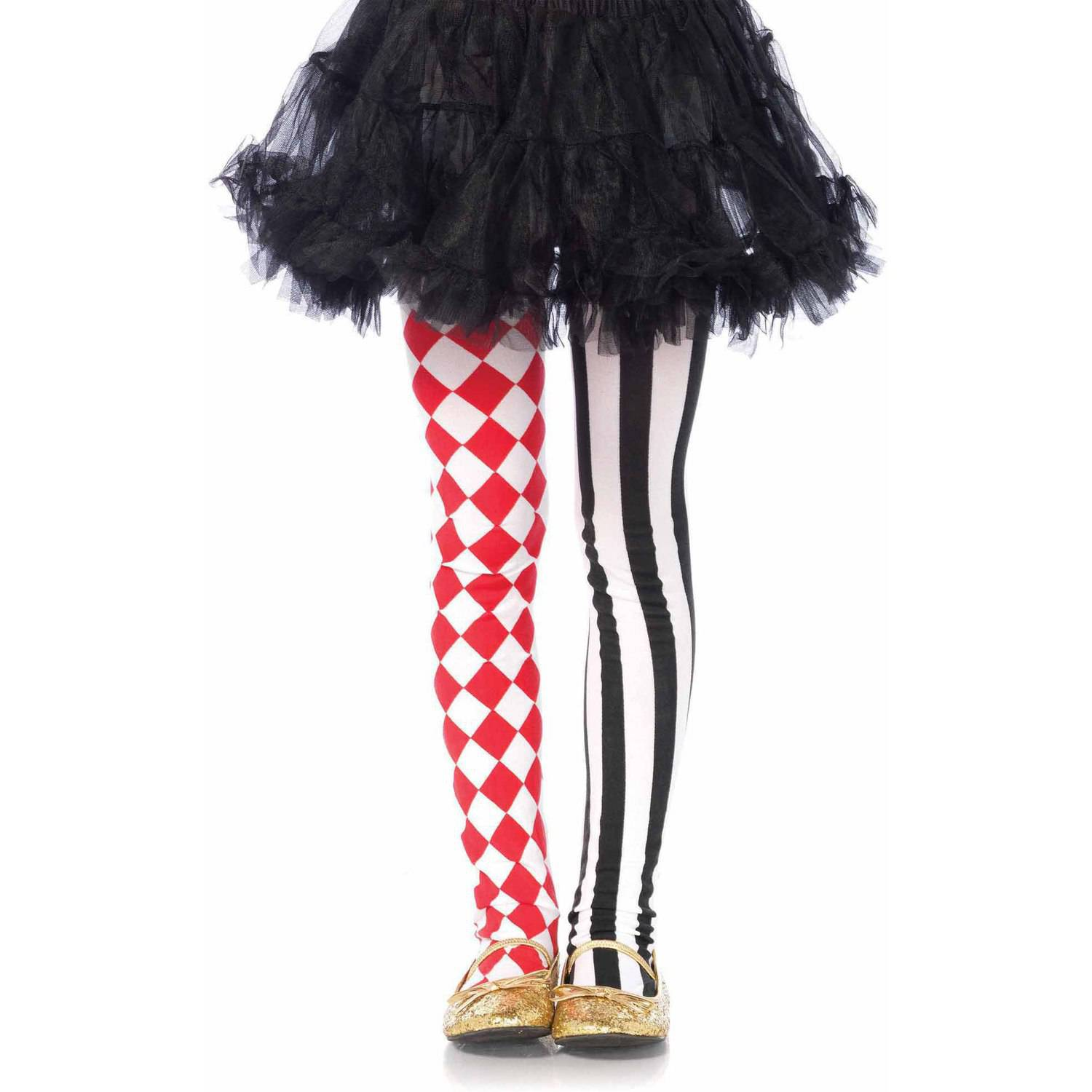 Leg Avenue Harlequin Dual Print Tights Adult Halloween Accessory