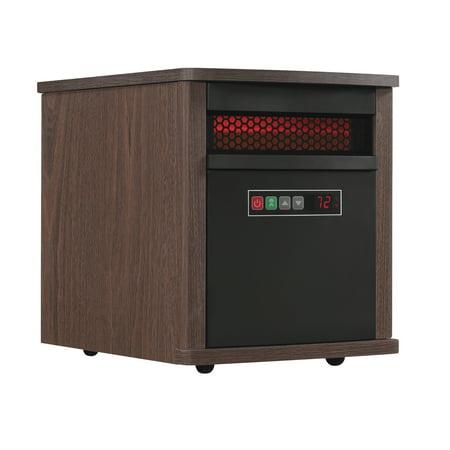 Duraflame Portable Infrared Quartz Space Heater Mahogany
