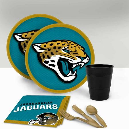 Jacksonville Jaguars Tableware Party Pack for 16 (Halloween Party Jacksonville Fl)