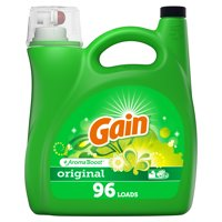 Gain Original HE, Liquid Laundry Detergent, 150 Fl Oz 96 loads