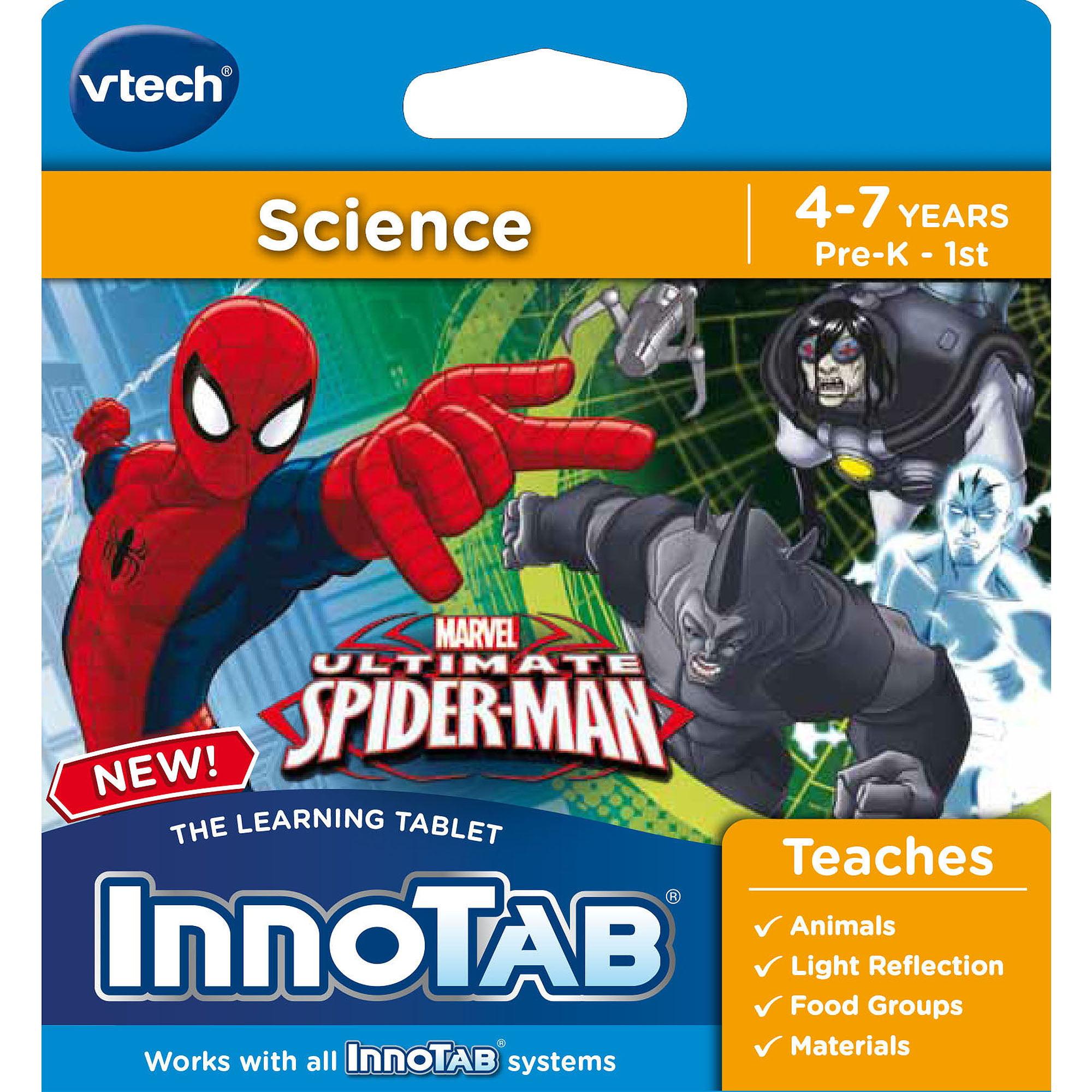 VTech InnoTab Software, Spider-Man