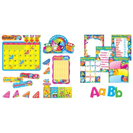 Memorial Day Bulletin Boards (Trend Enterprises Owl-Stars Everyday Super Pack Bulletin Board)
