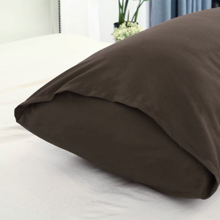 """Body Pillow Case Microfiber Long Bedding Covers Body Pillow Cover Brown 20""""x54"""" - image 5 of 7"""