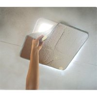 Camco 451919 Sunshield Reflective Vent Cover - Helps Increase Your RV's Cooling and Heating Efficiency