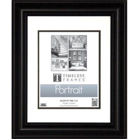 timeless frames 45357 lauren portrait black wall frame 13 x 19 inch. Black Bedroom Furniture Sets. Home Design Ideas