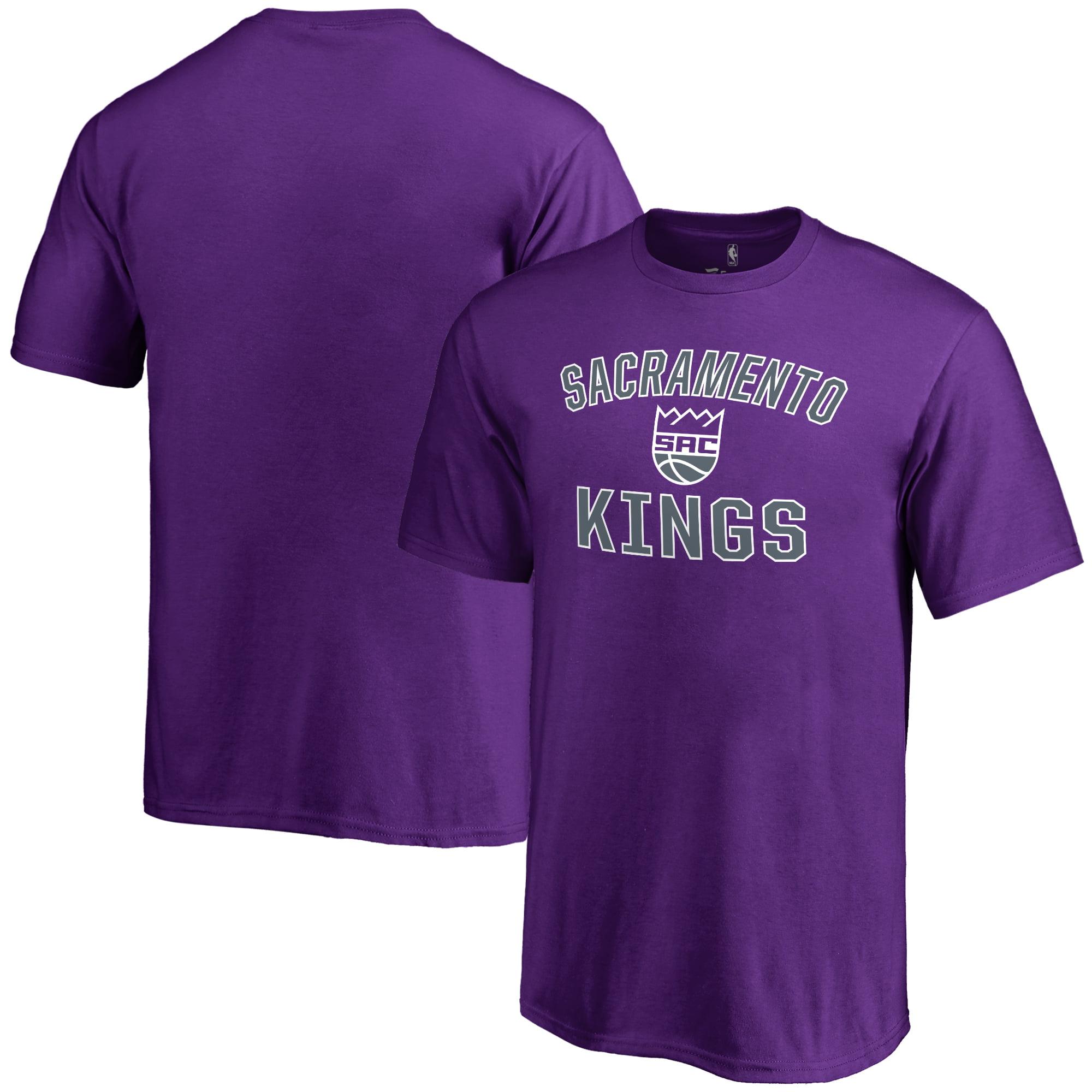 Sacramento Kings Youth Victory Arch T-Shirt - Purple