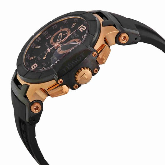 489d963d3f2b Tissot - T-Race Rose Gold Chronograph Mens Watch T0484172705706 ...