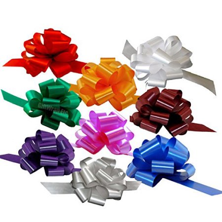 - Christmas Gift Wrap Pull Bows - 5