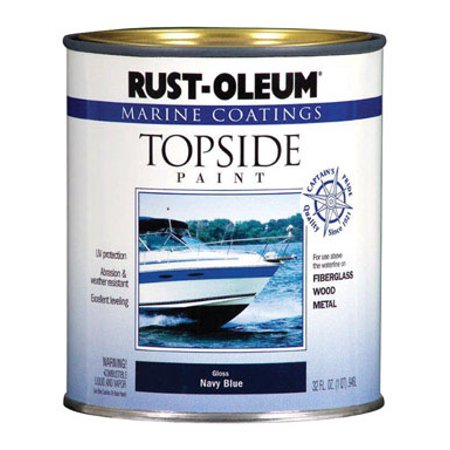 Rust-Oleum Marine Coatings Topside Marine Paint Gloss Navy Blue,