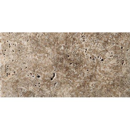 Emser Tile T06FONT0306UT Walnut Trav Fontane Tumbled Tumbled Travertine Tile