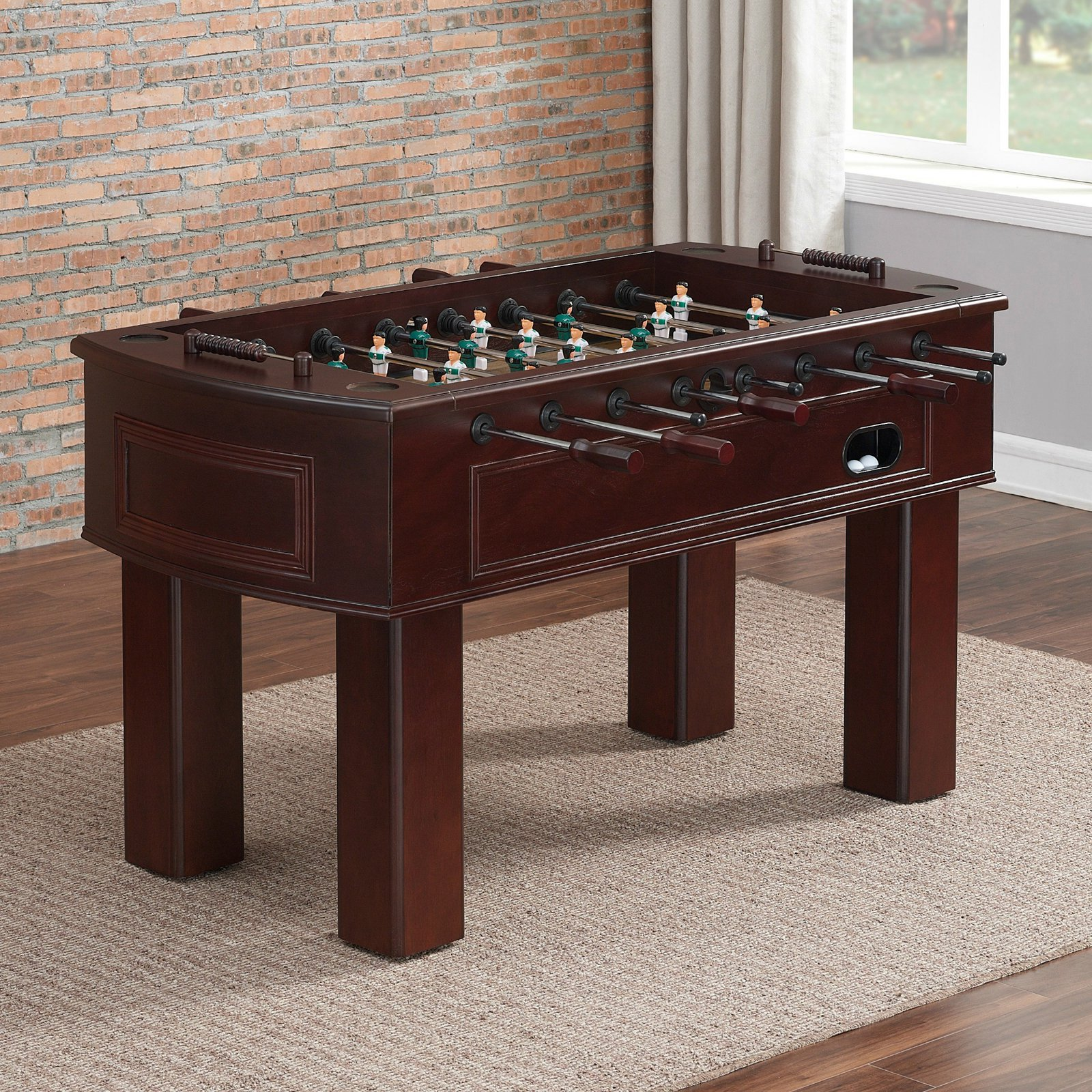 High Quality American Heritage Carlyle 62 In. Foosball Table