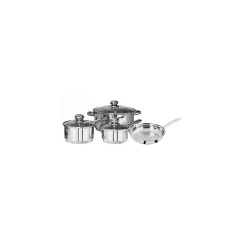 COOKWARE 7PC STAINLESS STEEL