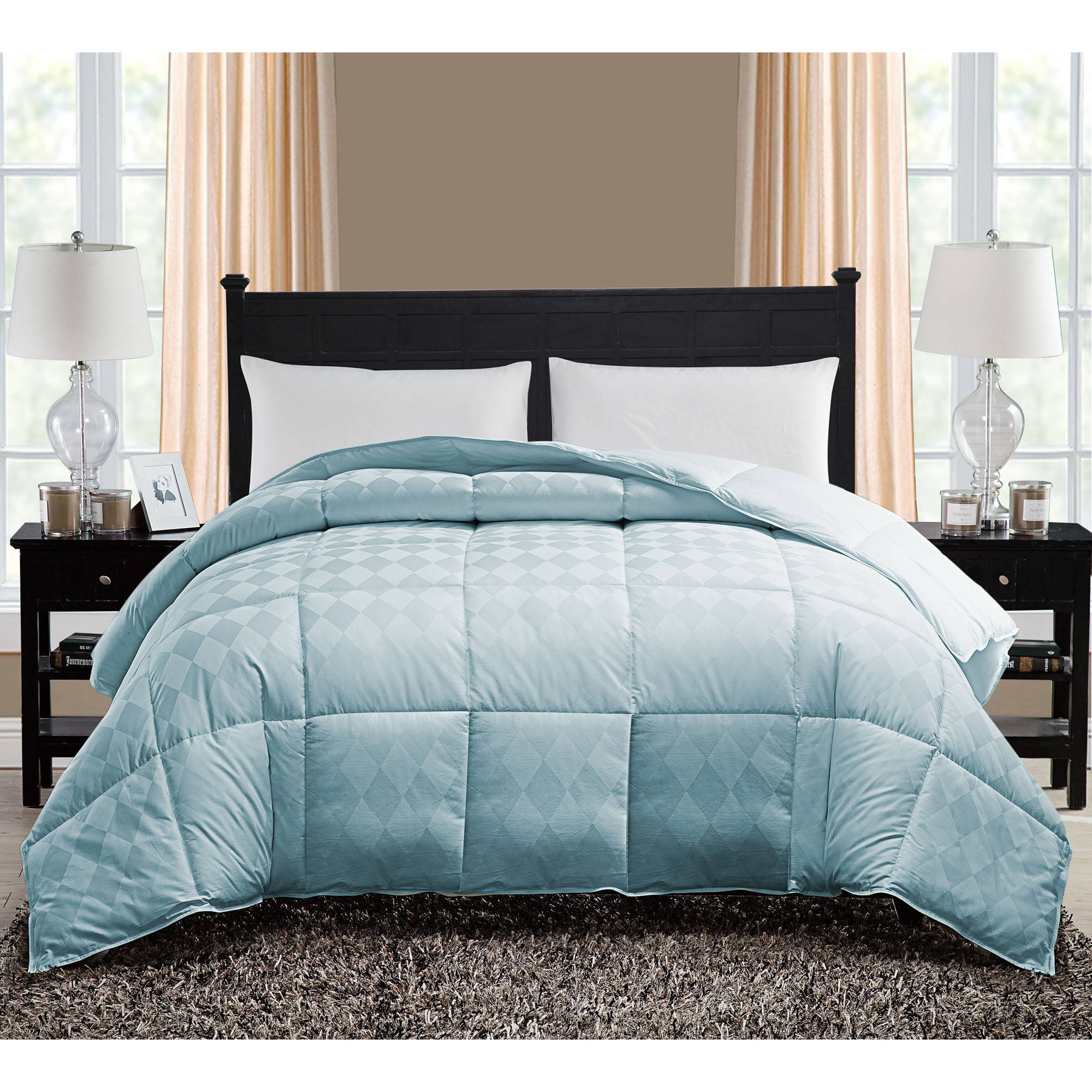 VCNY Home Diamond Down Alternative Bedding Comforter, Multiple Colors