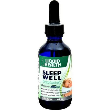 Liquid Health Products Sleep Well Gf - 59 Ml - Walmart com
