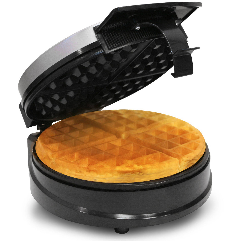 Maxi Matic Elite Cuisine Belgian Waffle Maker, White