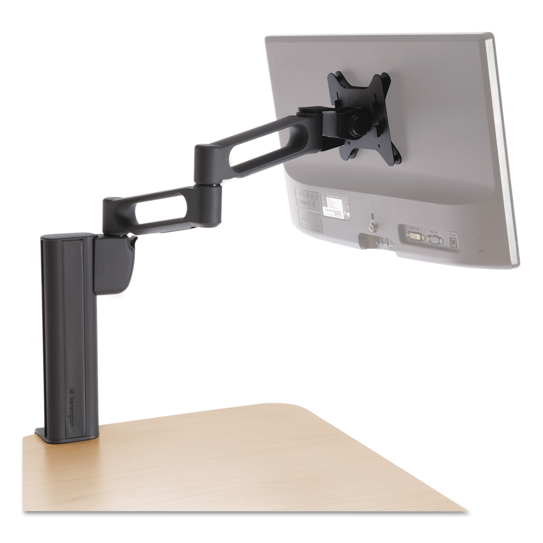 Kensington Column Mount Extended Monitor Arm w SmartFit System by Kensington