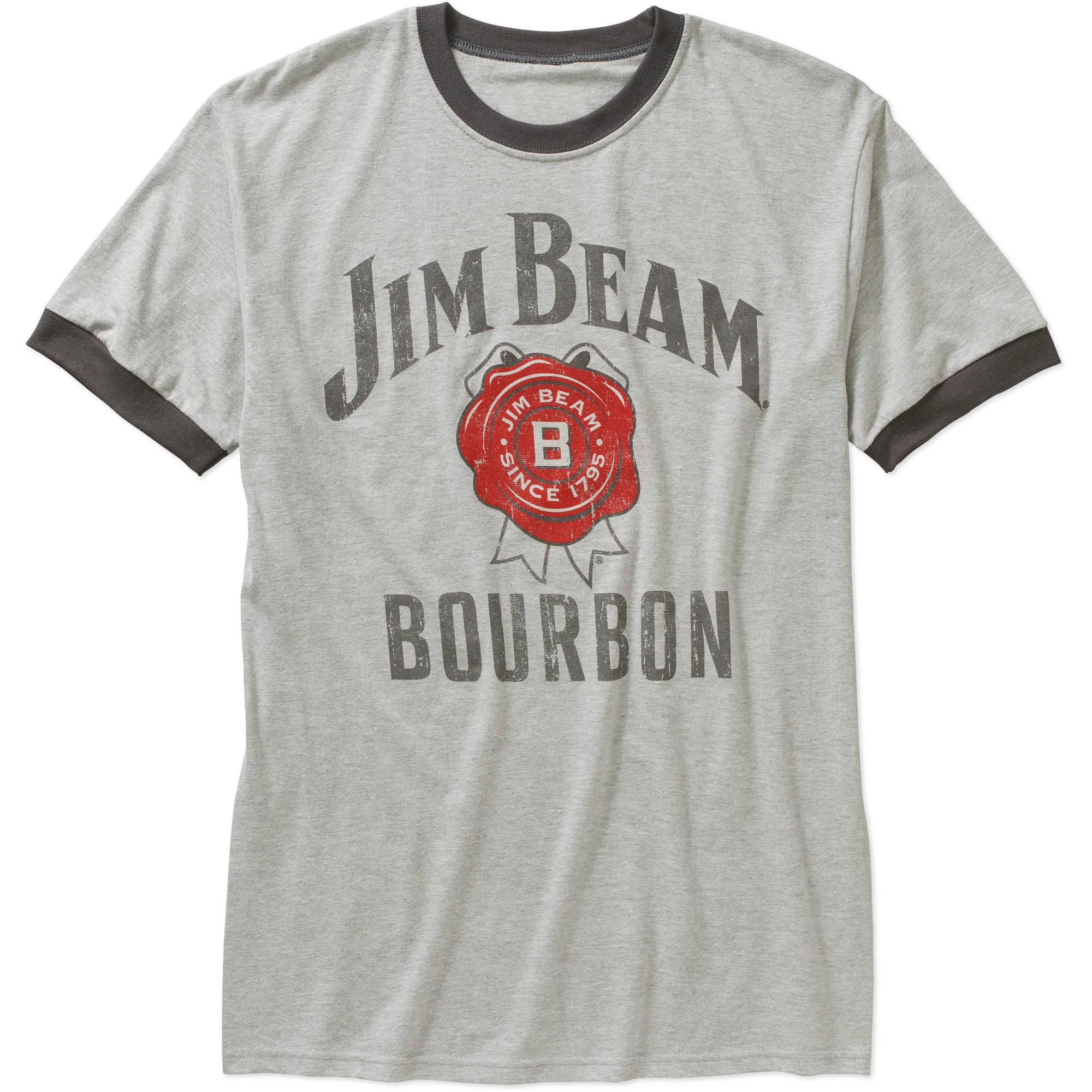 Jim Beam Men's Logo Graphic Tee
