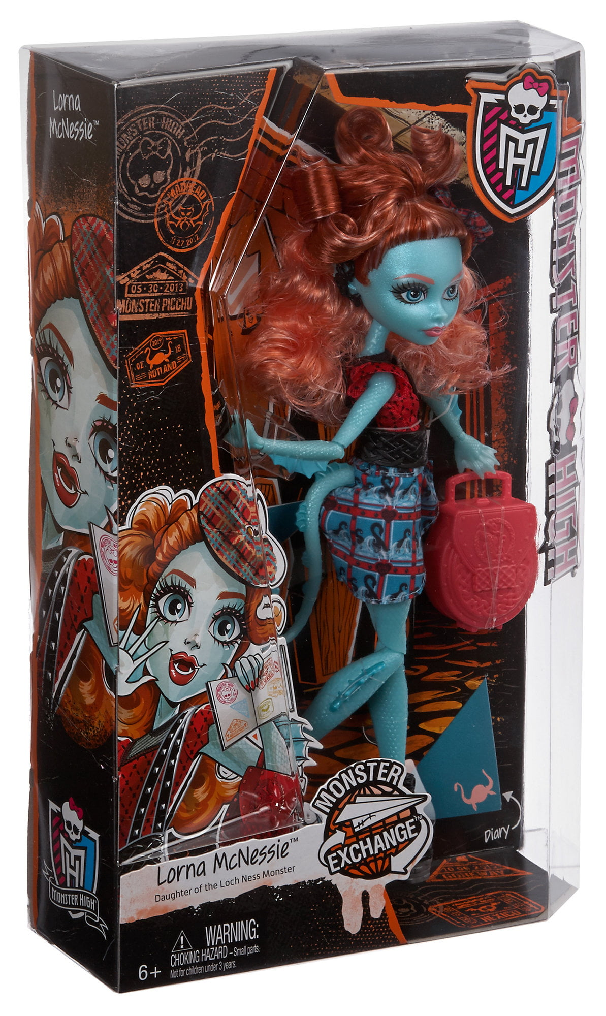 Monster High Monster Exchange Lorna McNessie Doll by Mattel