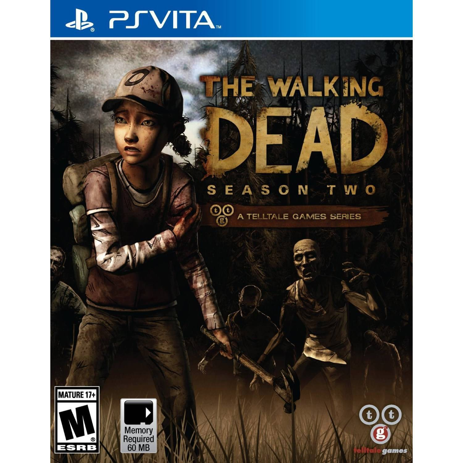 The Walking Dead Seas Two (PSV) - Pre-Owned