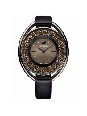 Swarovski Women's Crystalline Oval Black-Tone Watch 5158517
