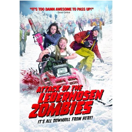 Attack of the Lederhosen Zombies (DVD) - Halloween Zombie Attack Prank