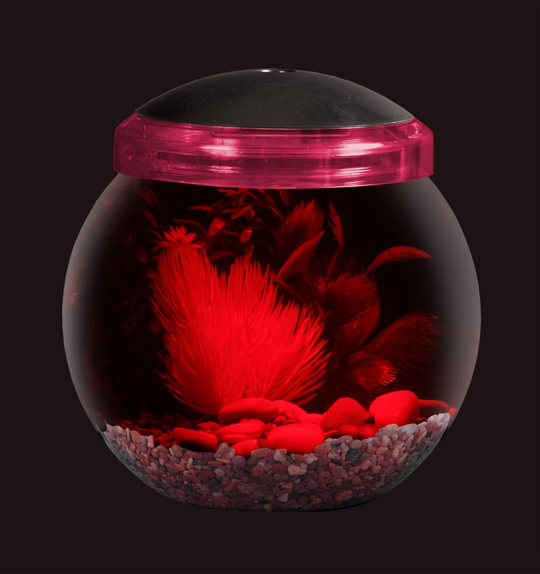 how to make led light for fish bowl
